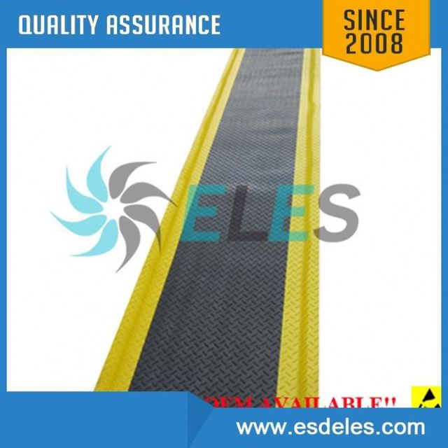 Cleanroom esd floor rubber green mat china factory