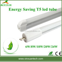 Factory sale high brightness 18w daylight led tube t8 to t5 fluorescent lighting fixture