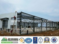 C section steel structure/prefabricated warehouse/workshop