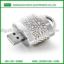 hot-sale u disk lock /usb flash memory drive