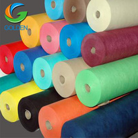 Make-To-Order type China manufacturer non woven fabric, tnt/ppsb/pp spunbond nonwoven/non woven fabric roll with any color