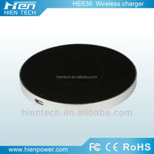 Promotion wireless charger for htc desire hd QI wireless transmitter induction pad