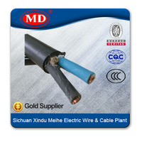 20AWG rubber compound sheath copper conductor cable