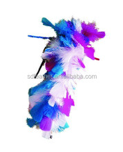 cat teaser toys with feather,feather wand cat toy
