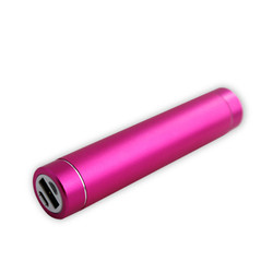 Cheap 2600mAh Cylinder power bank, round mobile power