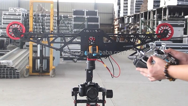 Factory supply film shooting equipment wire fly cam system eagle eyes video cablecam system for DJI OSMO Ronin