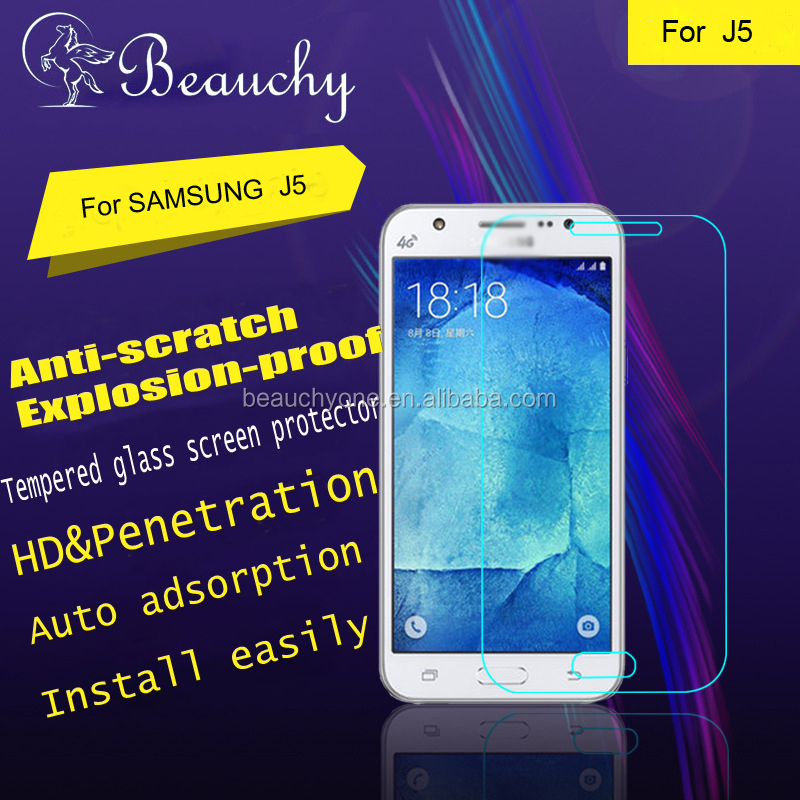 tempered glass screen protector, glass screen protector for Samsung Galaxy J5, tempered glass screen protector machine