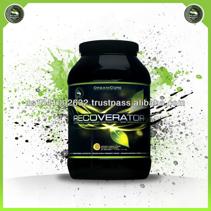 RECOVERATOR - recovery / endurance / sport performance supplement - natural sport nutrition - organic sport