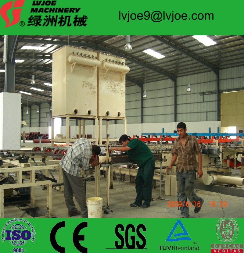 gypsum board machine making plant/Fiber cement board equipment