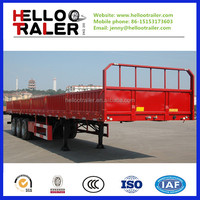 40~60tons Cargo Sidewall Semi-Trailer for sale