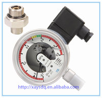 ISO9001,CE, high precision low pric Oil filled SF6 refrigeration pressure gauge