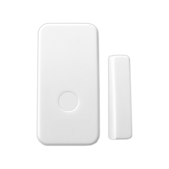 New design Wireless door window magnetic contact sensor with emergency panic button