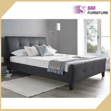 Luxury fabric bed frame new modern bed design to wholesale