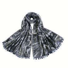 Hot sell stylish muslim aztec scarf fashion hijab