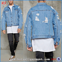 New Arrival Fashion Mens Distressed Denim