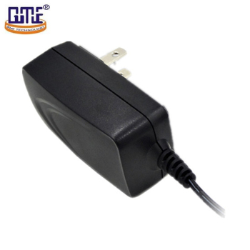 black fire-retardant pc switching power ac dc adapter12v 1a