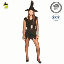 Halloween Carnival Party black sex witch Cosplay costume sexy witch fancy dress