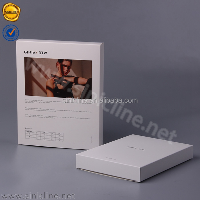 Sinicline branding solution offered custom foldable underwear packaging boxes for clothes
