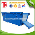 Custoimzed size and type china factory skip bins manufacturer
