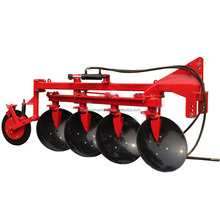Agricultural equipment two way disc plough for walking tractor