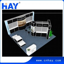 Beautiful appearance Modular Aluminum display booth with high quality materials