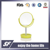 Table Decorative /Cosmetic / Plastic/ Magnifying / Colourful Makeup Mirror