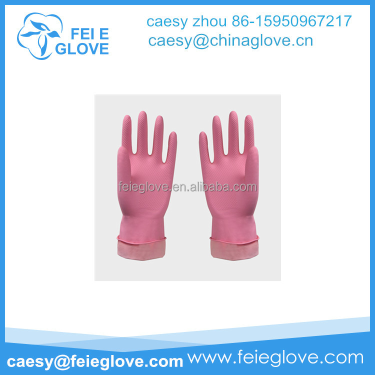 CE qualited gloves Supply Working Household Latex Glove Low Price Sell Latex Household Glove Factory
