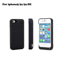 for iphone 5 backup battery case 4200mah extended rechargeable Battery Case phone cover for iphone 5 5s 5c