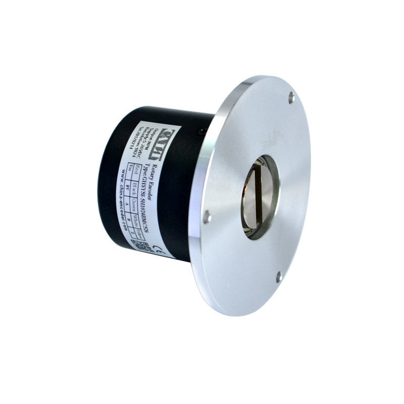 CALT 58mm photoelectric encoder 5mm key slot rotary encoder