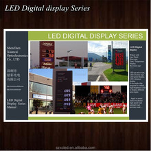 Outdoor 8/10/12/16/18/20/24/32inch Digital/time/temperature gas station LED petrol price sign display board