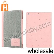 Pine Tree Pattern Diary Style Smart Wake Up Sleep Flip Stand Wallet Leather Case for iPad Air
