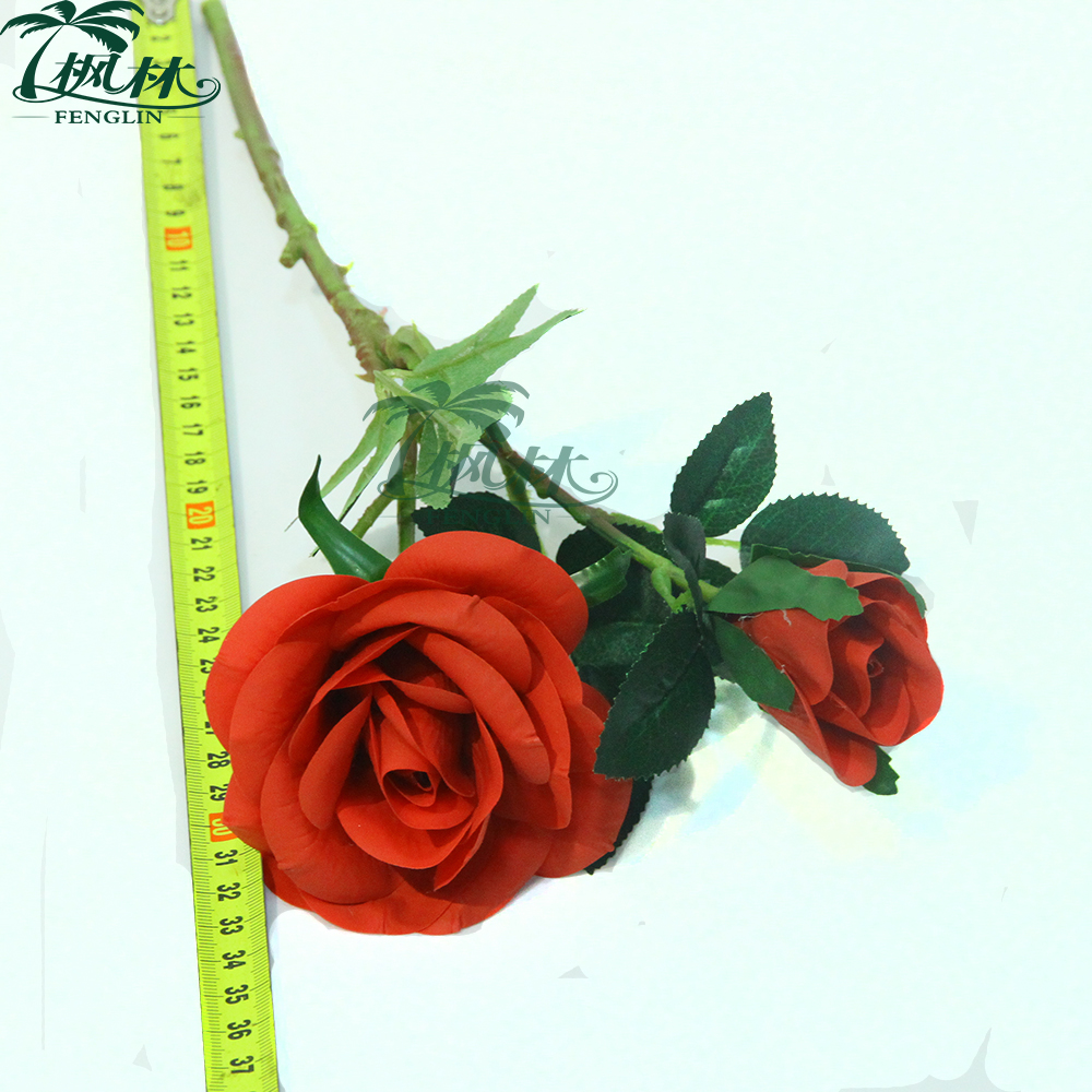 wedding decorative real touch PU artificial rose wholesale latex rose artificial flower