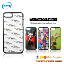 Hard Pc Material Diy Logo 2d Sublimation Custom Phone Cases For 5 5s 6s 7s 8 7 Plus For iPhone 6 Case For iphone