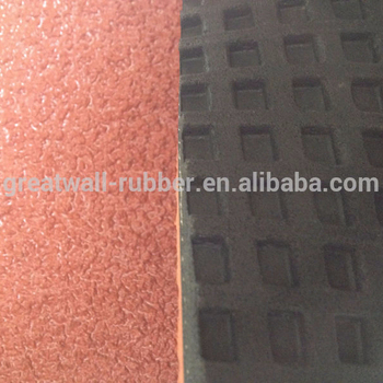 High quality A Grades breathe freely plastic rubber runway