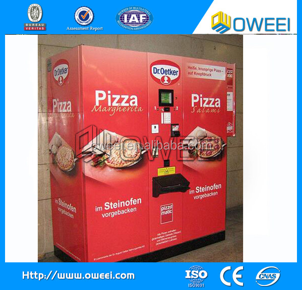 Low Price Pizza Vending Machine for Sale