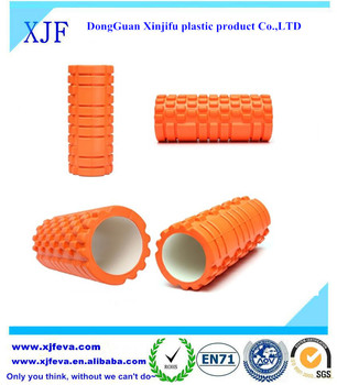 exercise foam roller for deep tissue muscle massage