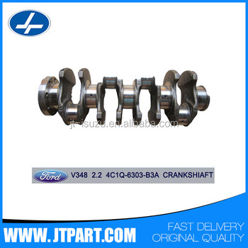 4C1Q 6303 B3A for transit V348 2.2 genuine part cheap engine crankshaft price