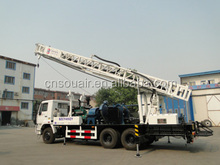 Truck Mounted Rotary Drilling Rig --Drill depth 400m Used for Water well, Construction, National Defense Building Foundation,