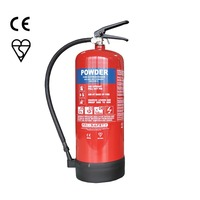 Portable 9L Water Fire Extinguisher with EN3