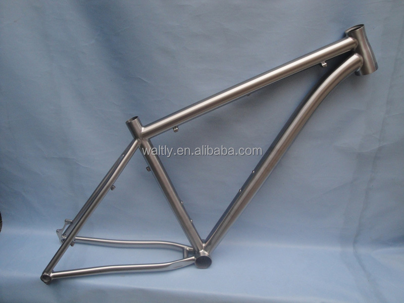 Enduable and cheap mtb 27.5 frame titanium with famous brand axle