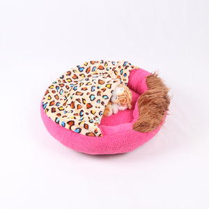 Soft cat cave bed small dog beds