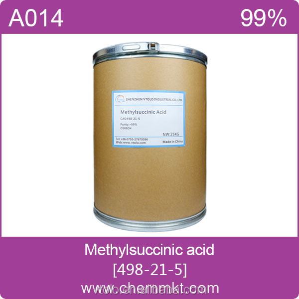 [RETAILS] High quality 2-Methylsuccinic acid 498-21-5