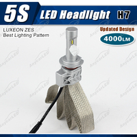 5S h7 4000lm auto motorcycle car led mh4 motorcycle headlight