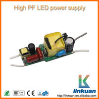 5w high power factor constant current led driver LED power supply AD07F