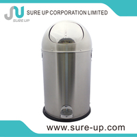 hot sell recycling bins with sliding round cover (DMUQ)