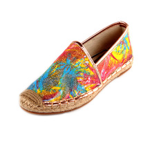 Wholesale sewn in espadrille shoes comfortable new arrival canvas women's shoe