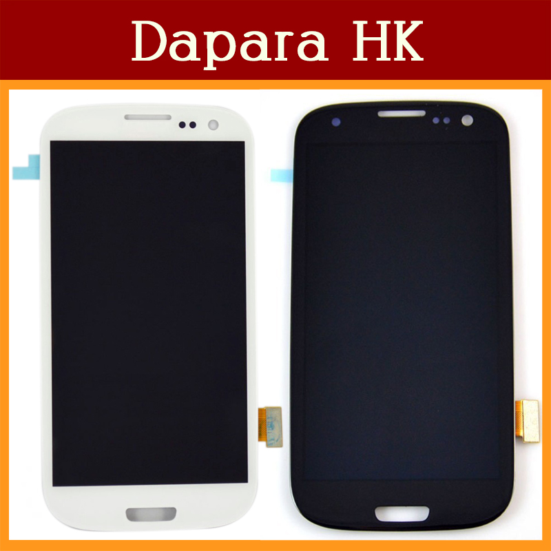 i9300 LCD Display Assembly For Samsung Galaxy S3 9300 i747 t999 E210 / LCD Replacement