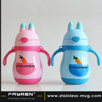 Baby use water vacuum flask/cartoon water bottle for kids