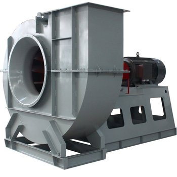 High air flow boiler forced draft blower