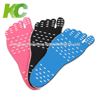 Swimming Pool Stick On Soles Foot Pads Beach Waterproof Shoes Insoles Feet Stick